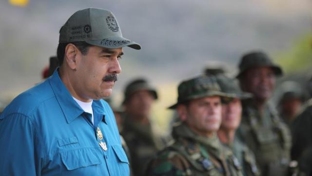 """Maduro avisa a Sánchez de que sus manos pueden quedar """"llenas de sangre"""""""