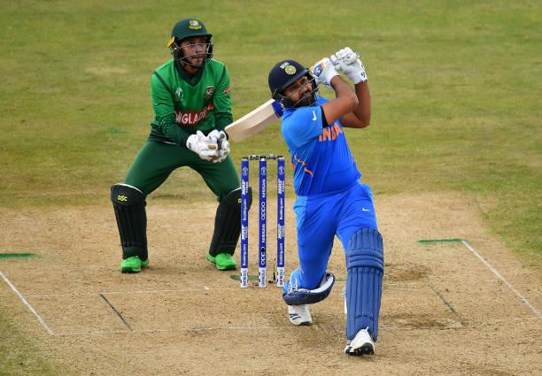 BIRMINGHAM-ENGLAND-JULY-02-Rohit-Sharma-of-India-in-action-batting-as-Mushfiqur-Rahim-of-Bangladesh-