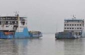 বাংলাবাজার-শিমুলিয়া নৌপথে আজ থেকে ফেরি চলাচল বন্ধ