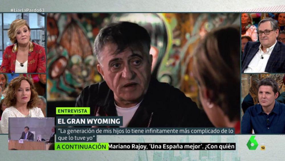 El Gran Wyoming: «Almeida o es un ignorante o es un imbécil»