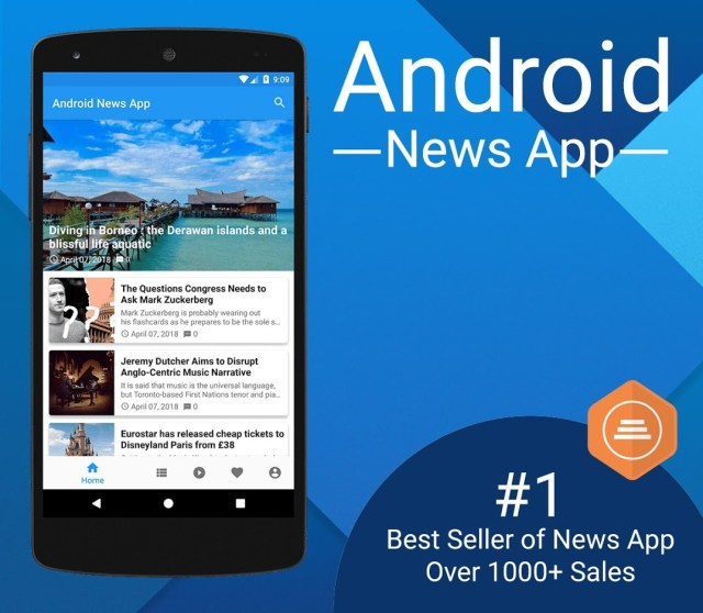 Android News App - 1