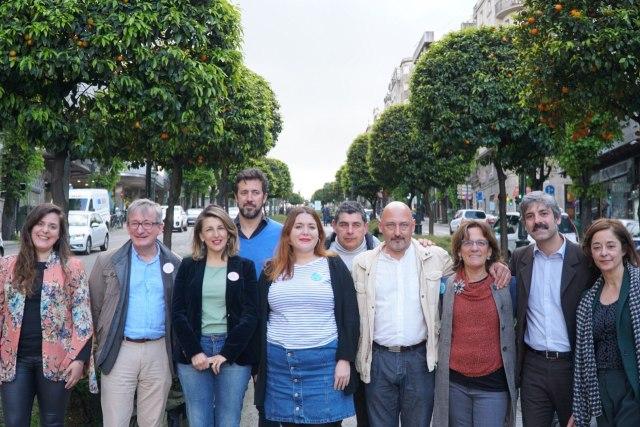 """En Común Unidas Podemos presenta a súa candidatura en Vigo e destaca a importancia das medidas """"urxentes"""" como a gratuidade da AP-9"""