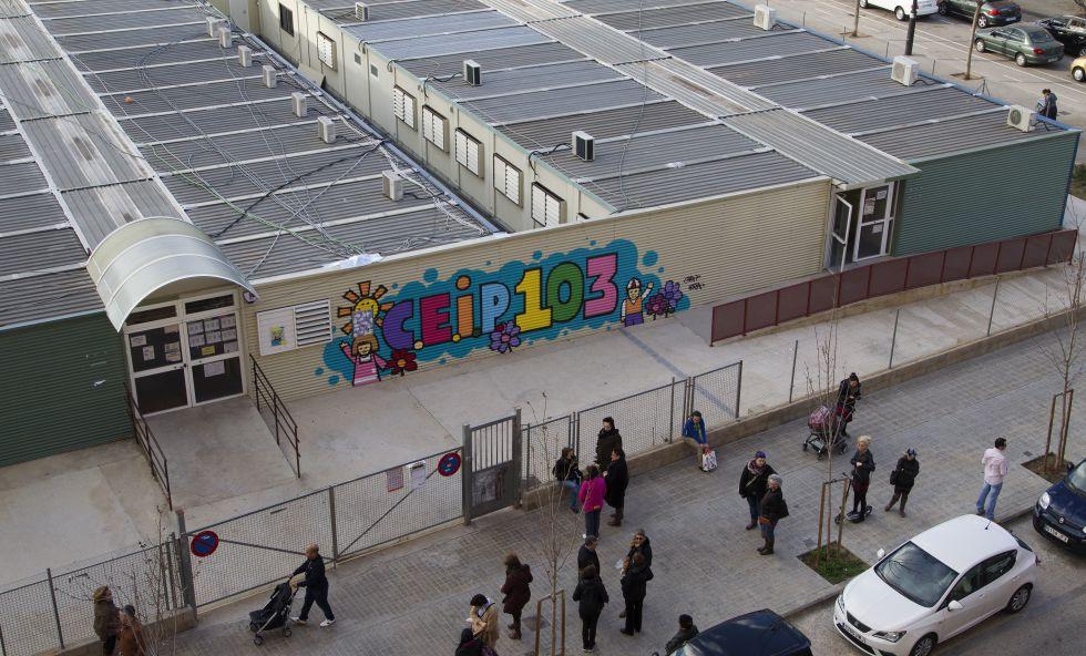 50.000 escolares españoles empezaron el curso en barracones