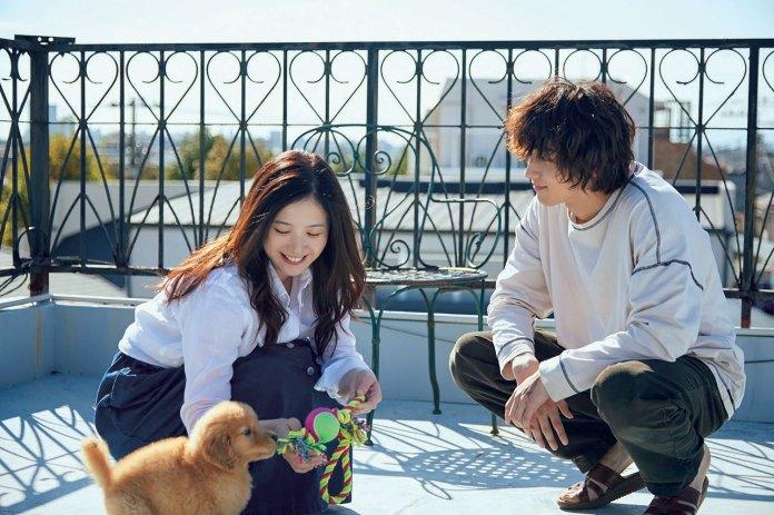 Yuriko Yoshitaka and Ryusei Yokohama in Your Eyes Tell