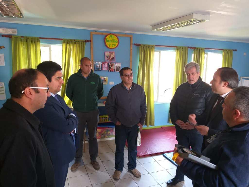 Seremi de Energía realizó visita inspectiva a jardín infantil por fuga de gas.