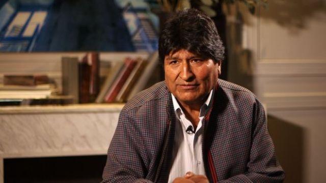"""Morales explota contra la BBC: """"No tengo fecha para regresar a Bolivia, pero voy a hacerlo para combatir a periodistas como tú»"""