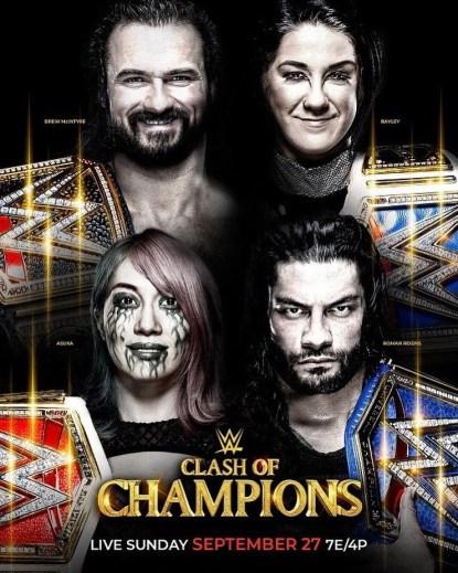 WWE: Clash of Champions 2020 English PPV 720p HDTV 1.2GB