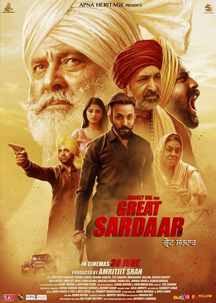 The Great Sardaar 2018 Punjabi 720p AMZN HDRip ESubs 750MB