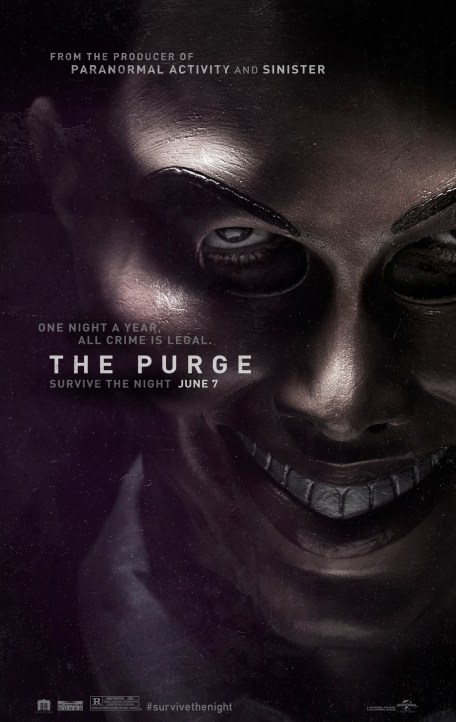 The Purge 2013 Dual Audio 720p BluRay ESub 650MB