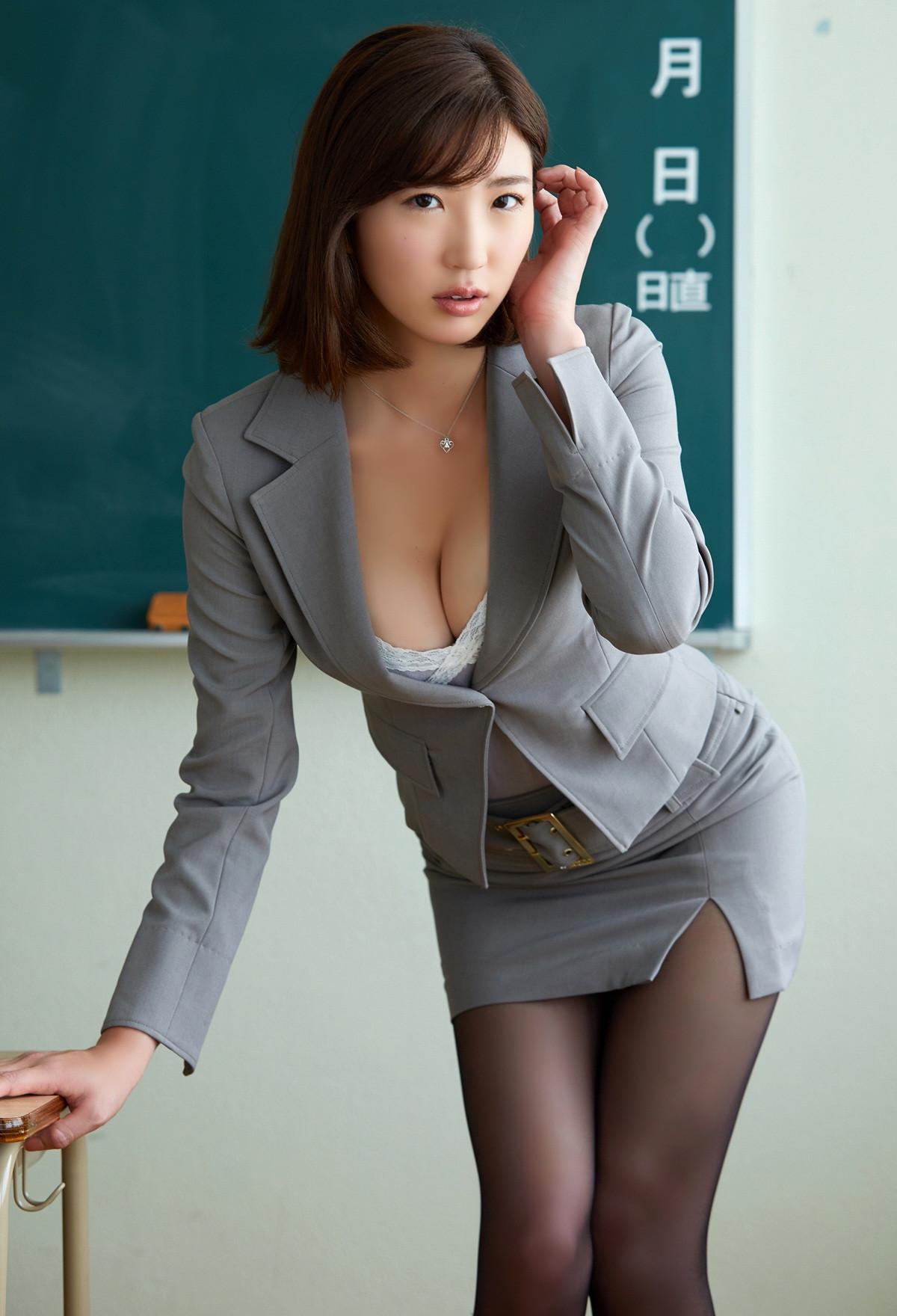 松嶋えいみ「放課後に呼び出されて」グラビア 画像 00033