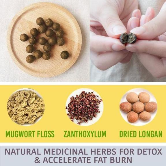 Herbal Slimming Waist Pellet (30 PCS)