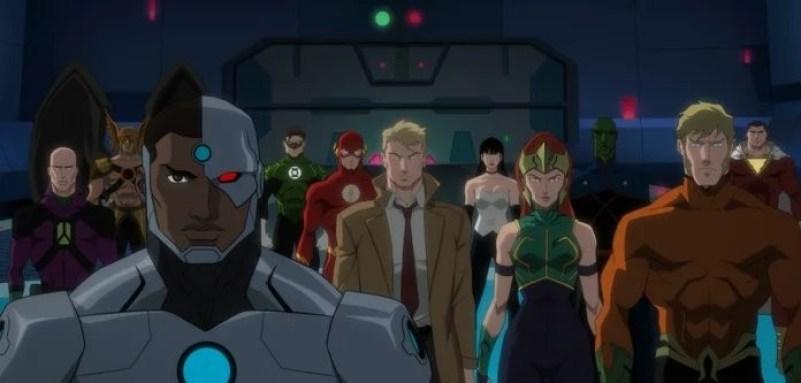 Heróis e Vilões se unem para derrotar o temível Darkside em Liga ...