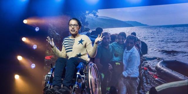 El sueño de Nujeen, la chica que huyó de Siria en silla de ruedas