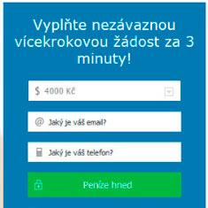 online nové rychlé půjčky