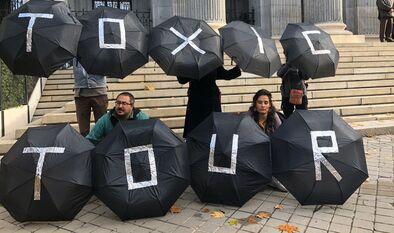 Criminalización del Toxic Tour en la Cumbre Social por el Clima