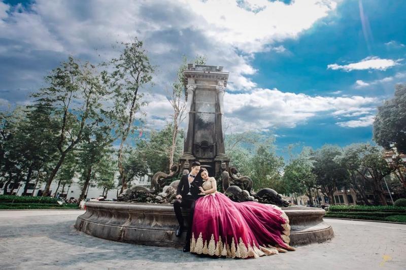 Yêu Studio Huế, chụp ảnh cưới ở Huế