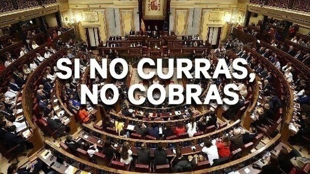 Medio millón de firmas para pedir a los diputados y senadores que renuncien a la indemnización tras la disolución de las Cortes Generales