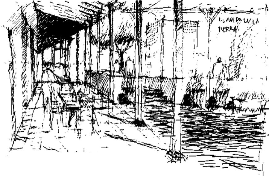 Una arqueología de proyecto: Repensar el patio