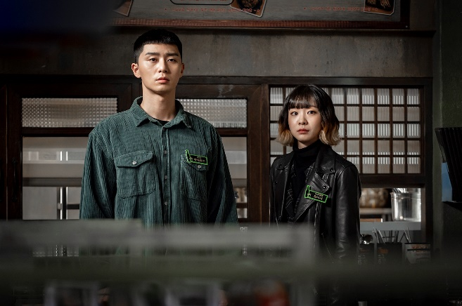 ภาพจากซีรีส์: Itaewon Class