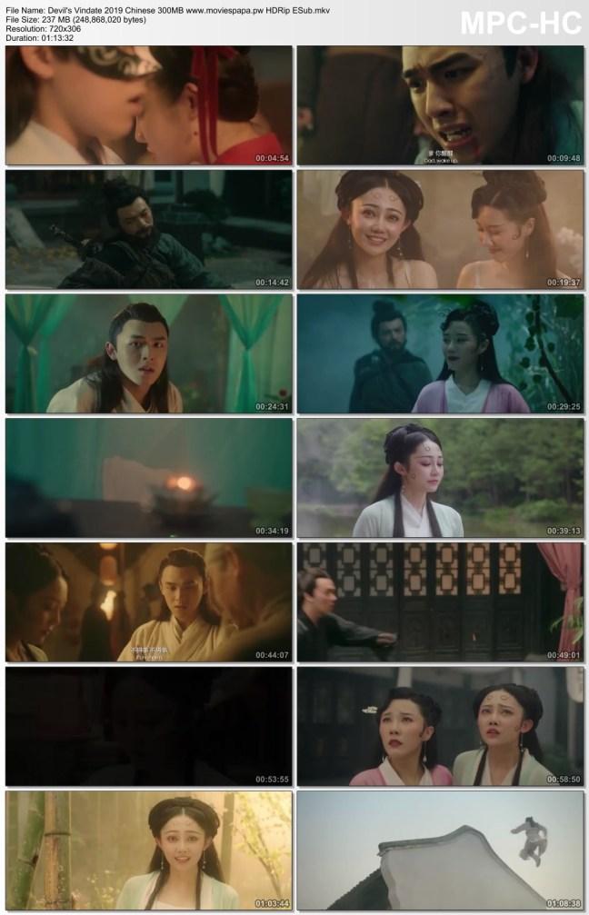 Devil's Vindate 2019 Chinese Movie 250MB HDRip ESub Download