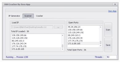 SSH IP Generator Port Scanner RDP Cracker