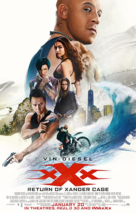 xXx: Return of Xander Cage (2020) Dual Audio 720P BluRay 800MB