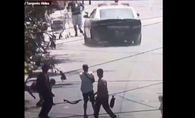 Vídeo | Brutal atropello intencionado de ciudadanos por parte de una patrulla de Carabineros en Chile