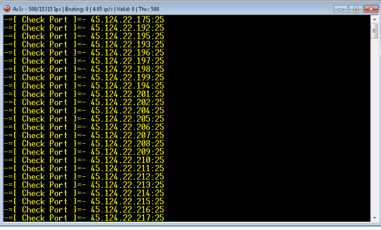 IP-DOMAIN SMTP SCANNER AND CRACKER