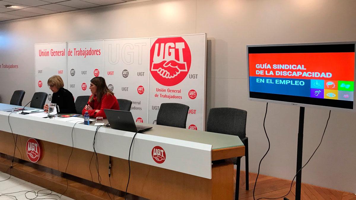 UGT presenta la Guía Sindical de la Discapacidad en el Empleo