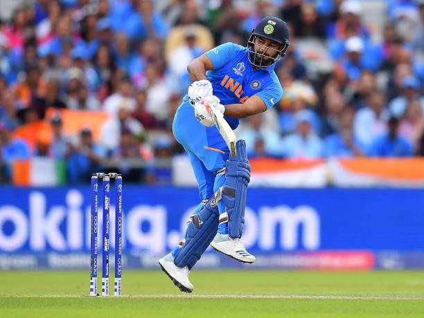 MANCHESTER-ENGLAND-JULY-10-Rishabh-Pant-of-India-in-action-batting-during-the-Semi-Final-match-of-th