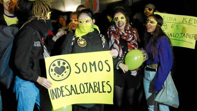 Ecologistas en Acción: «La Ingobernable es indesalojable»