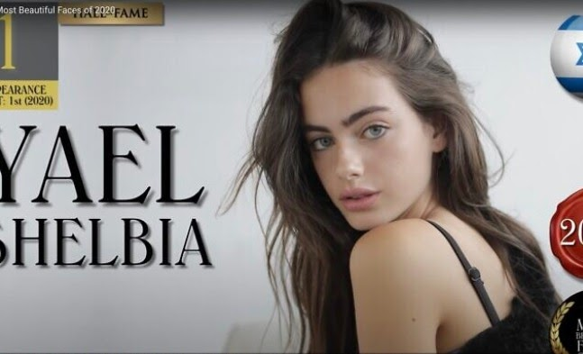 Israeli model who was named world's 'most beautiful face' of 2020