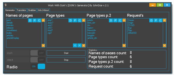Work With Dorks [DORK's Generator]-Dork Generator