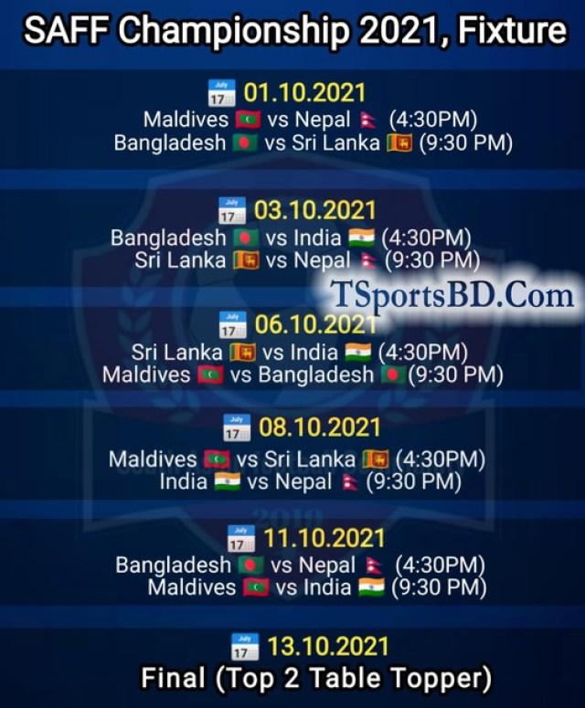 SAFF-Fixtures