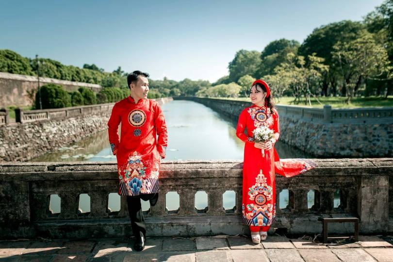 studio chụp ảnh cưới ở Huế, chụp ảnh cưới ở kinh thành Huế