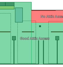 to install lights in the area shaded in red i ll be having to drill through a large floor joist to fish the wires i m not opposed to it but it will make  [ 1148 x 813 Pixel ]