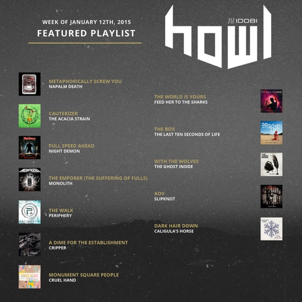 011215 HOWL weekly-playlists small