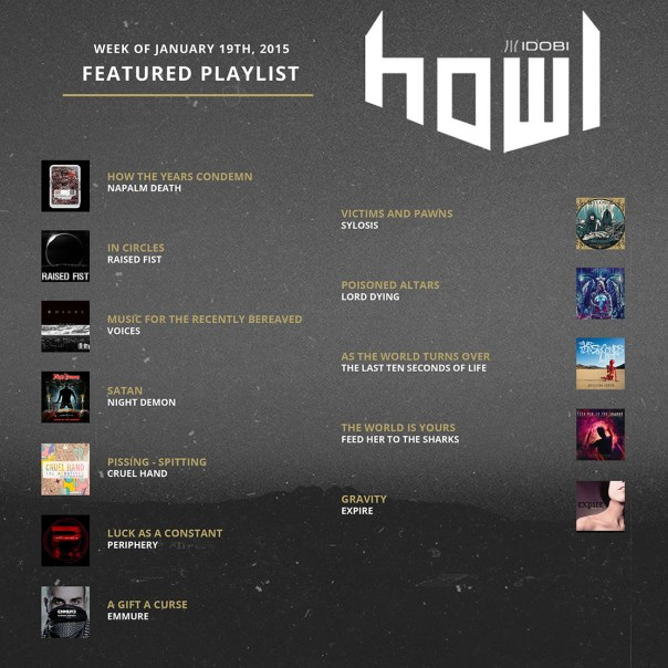011915 HOWL weekly-playlists small