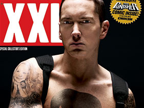 Eminem on the cover of XXL