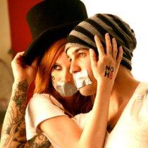 Pete Wentz and Ashley Simpson
