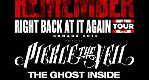 Pierce The Veil Tour Canada