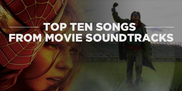 Tuesday Ten Movie Soundtracks Banner