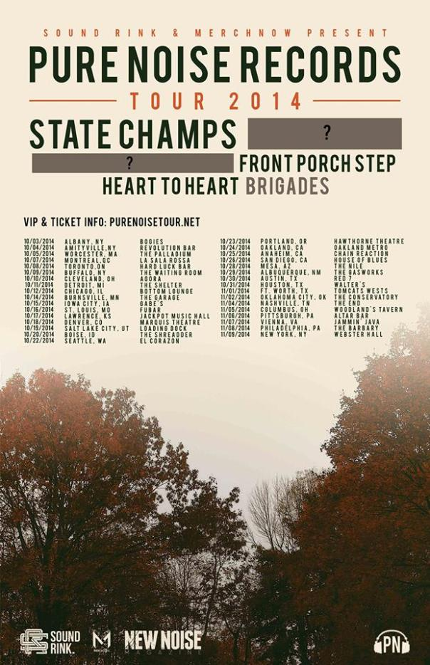 state champs pure noise tour