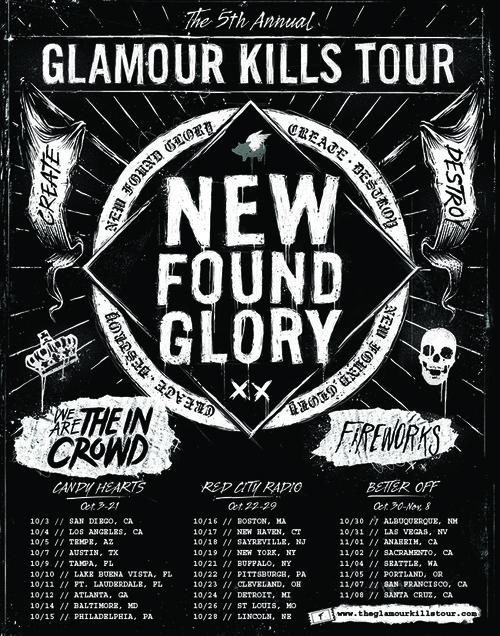 glamour kills tour 2014