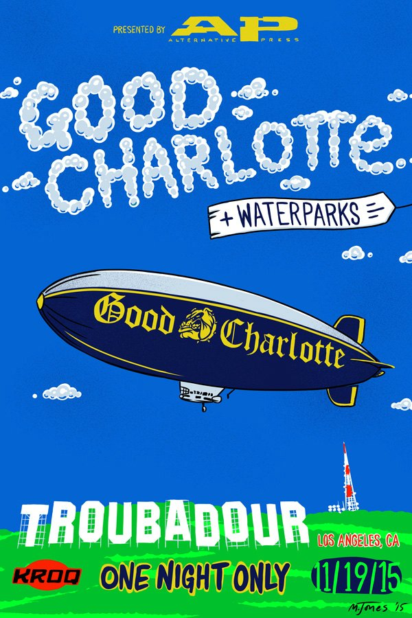 Good Charlotte Troubadour