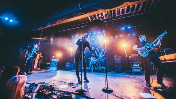 The Maine photographed by Matty Vogel during The American Candy Tour at The Marquee in Tempe, Arizona