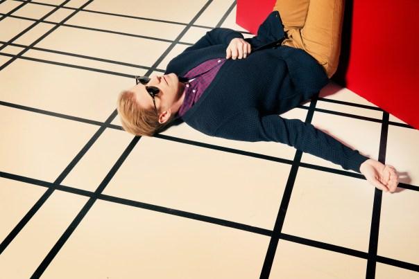 Andrew Lying on Ground (Credit Tamar Levine)