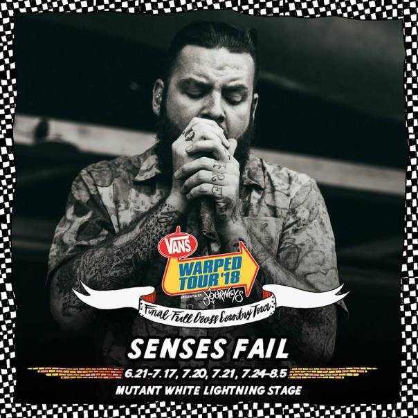 Senses Fail Warped Tour