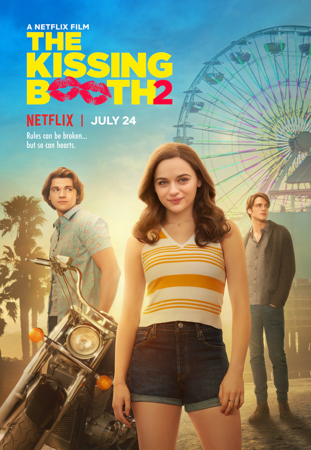 The Kissing Booth 2 Date : kissing, booth, Watch, Announcement, Kissing, Booth, Feat., Cast!, Idobi
