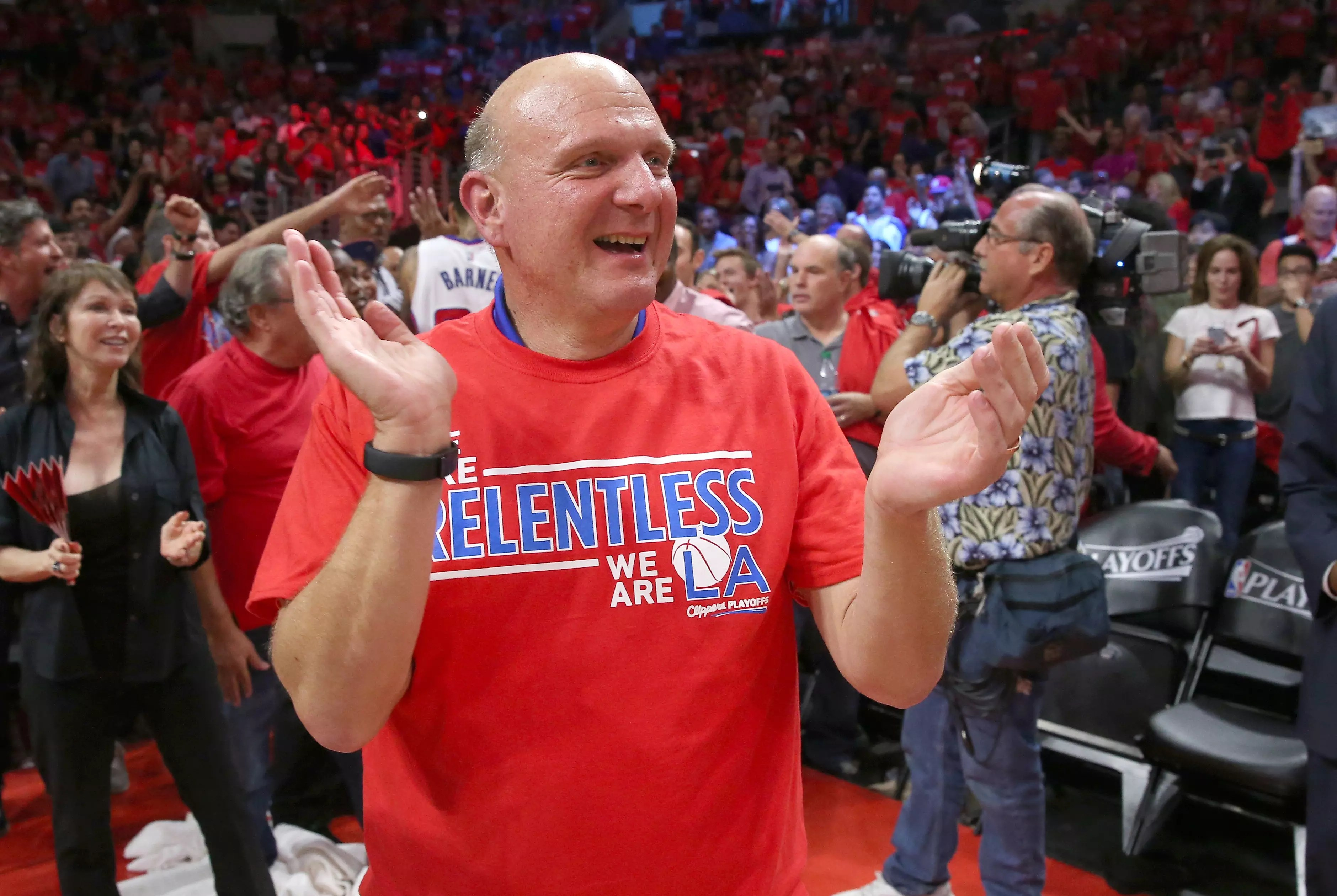 Clippers fans can bid to sit next to Steve Ballmer  AM